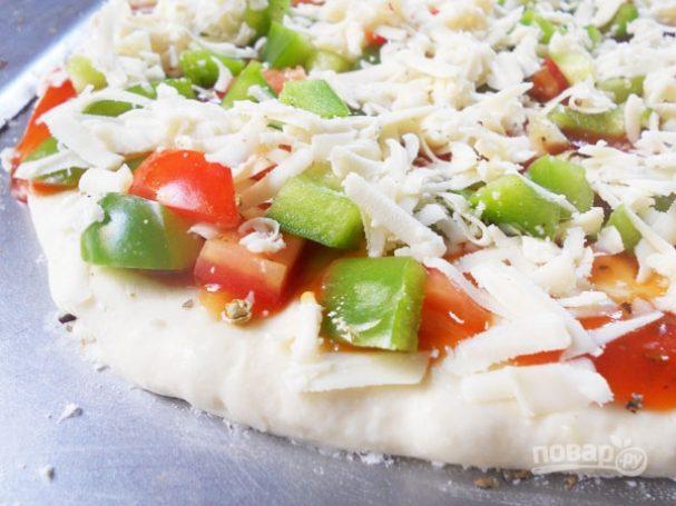 Дрожжевое тесто на пиццу