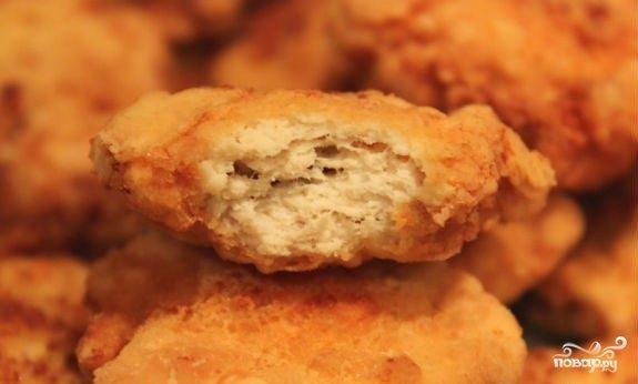 Рецепт куриных наггетсов из фарша в домашних условиях