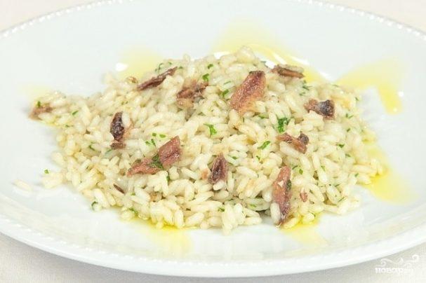 Рис с анчоусами