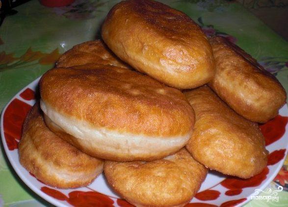 Воздушные дрожжевые пирожки с повидлом в духовке 32