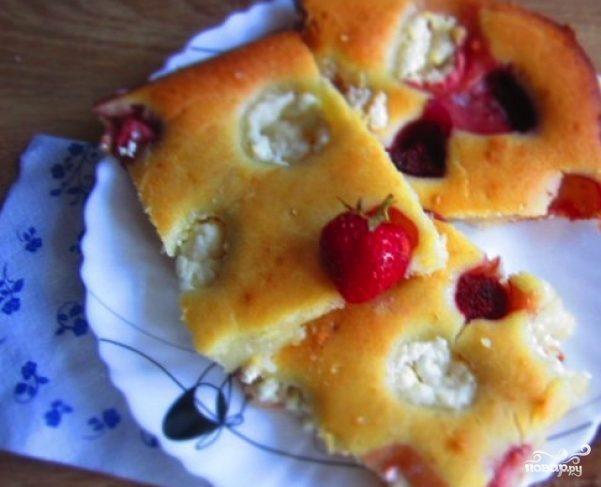 Творожный пирог на кефире