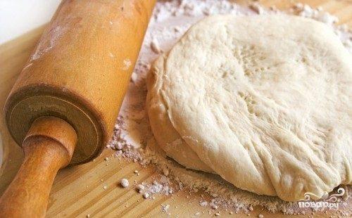 Пирожковое тесто без дрожжей
