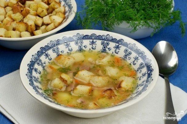 Суп гороховый со свининой