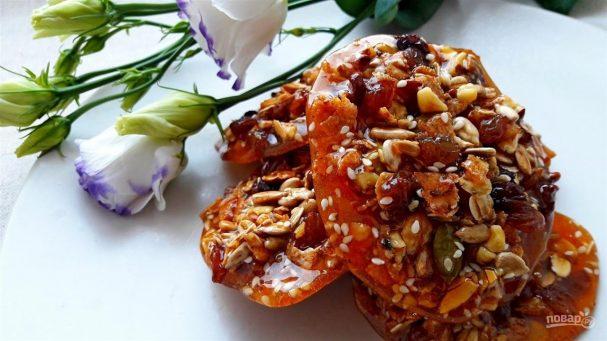 Как сделать грецкие орехи с медом фото 979