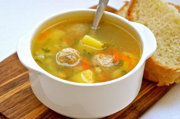 Суп с фрикадельками рецепты пошагово в