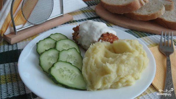 Детское картофельное пюре