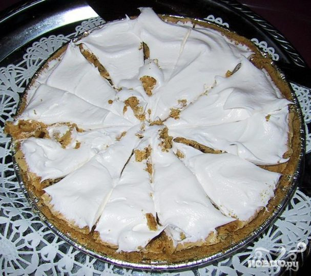Американский пирог с арахисовым маслом