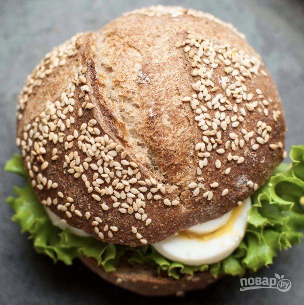 Гамбургер дома (полезный)