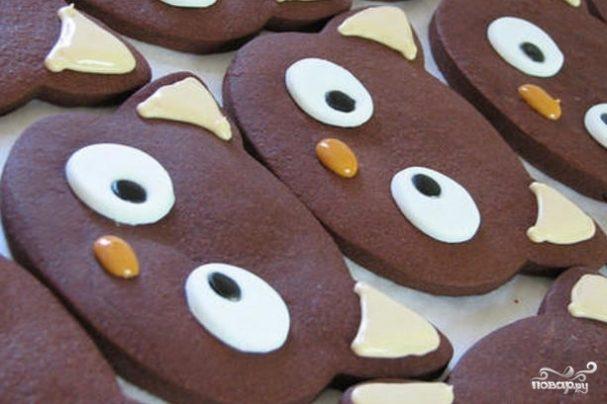 Печенье в виде животных