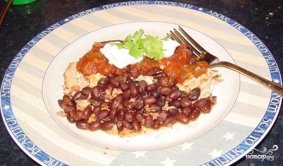 Курица по-мексикански в мультиварке