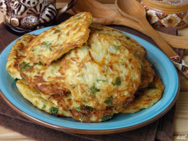 оладьи из кабачков рецепт повара