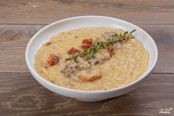 Суп из хамона