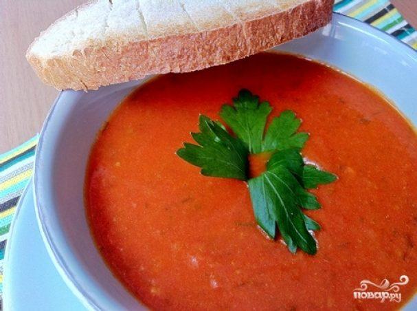 простой томатный суп пюре рецепты