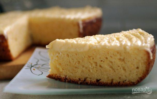 Пирог с лимоном в мультиварке
