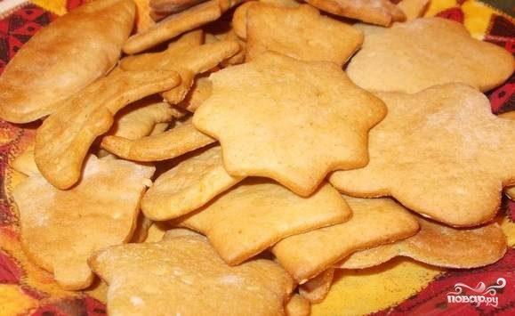 Домашнее печенье на скорую руку
