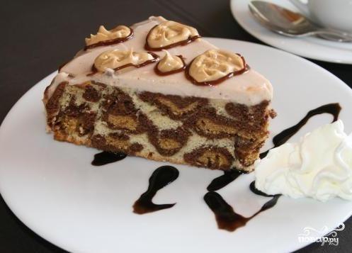 """Торт """"Леопардовый"""""""