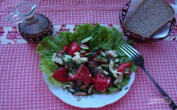 Летний легкий салат