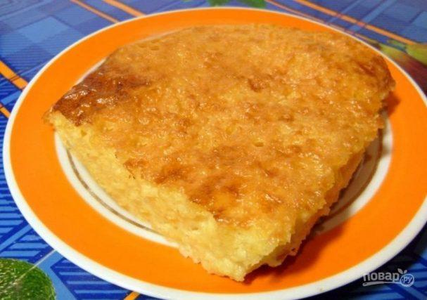 рецепт молочной пшенной каши в духовке
