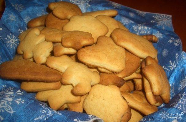 Имбирное печенье со свежим имбирем