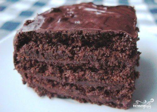 шоколадный торт без муки рецепт пошаговый