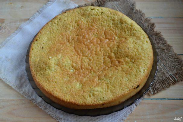 Вкусное бисквитное тесто