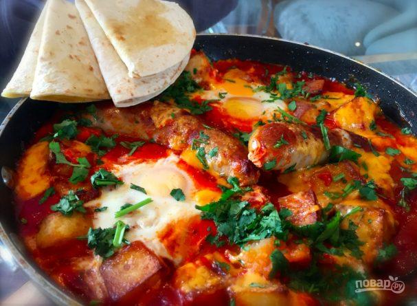 """Мексиканский завтрак """"Одна сковородка"""""""