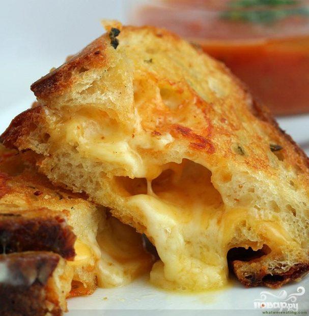 Поджаристые сырные сандвичи
