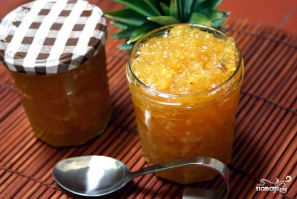 Варенье из ананаса