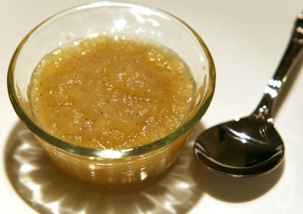 Соус из яблочного пюре