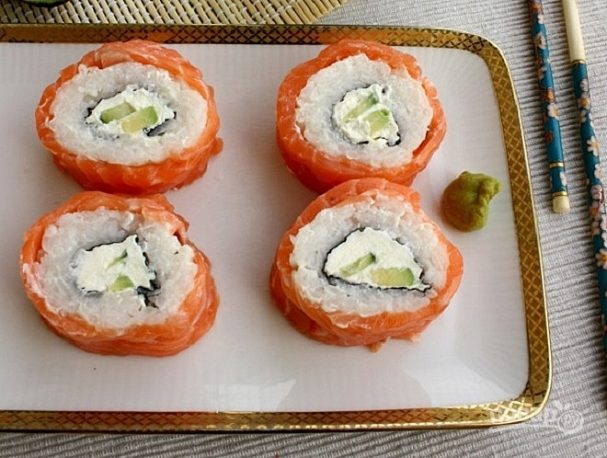 "Рецепт суши ""Филадельфия"" дома"