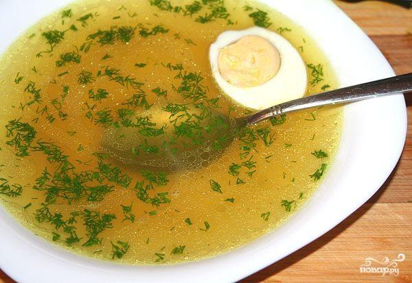 Куриный суп для похудения