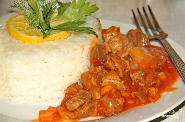 Свинина под кисло-сладким соусом