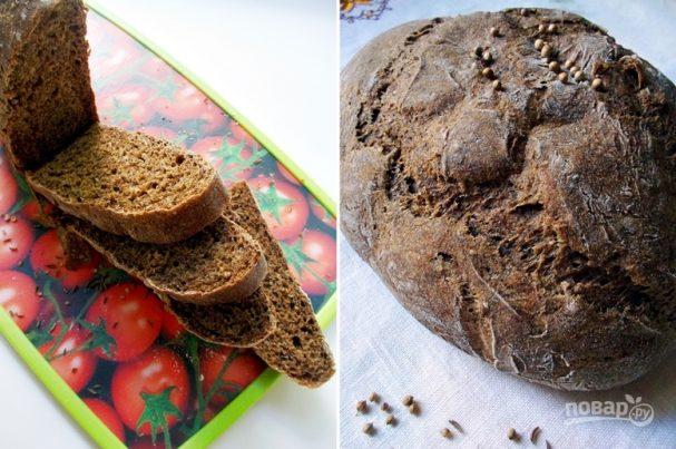 Хлеб бородинский в духовке