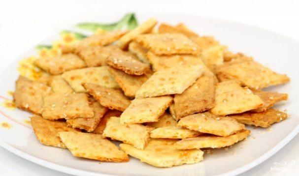 Крекеры с сыром