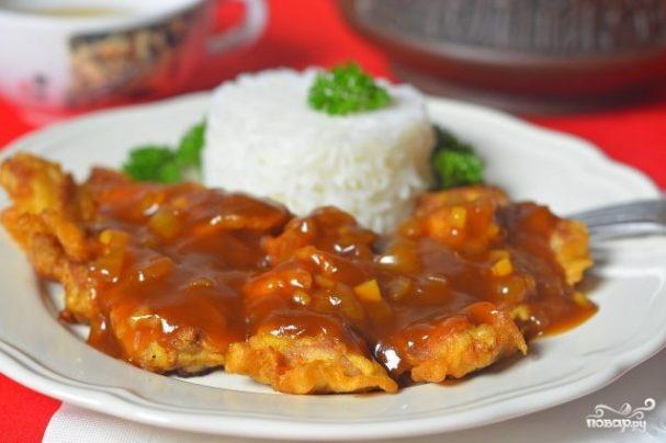 Мясо в кляре по-китайски