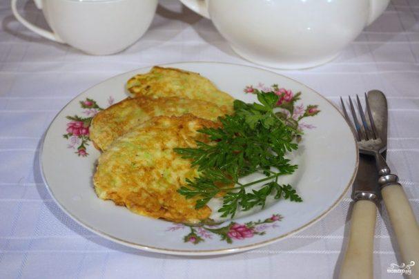 рецепт оладушек из кабачка пошаговый рецепт с фото