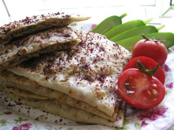 Кутабы с мясом по азербайджански рецепт пошагово