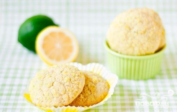 Цитрусовое печенье