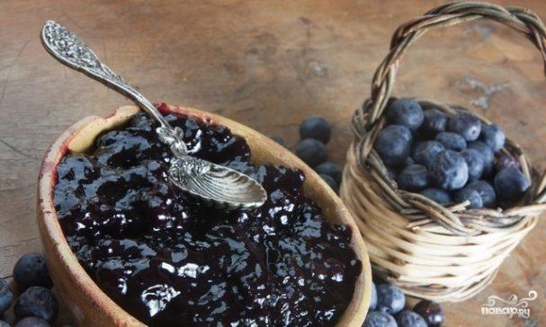 Варенье из черники рецепт пошагово с фото