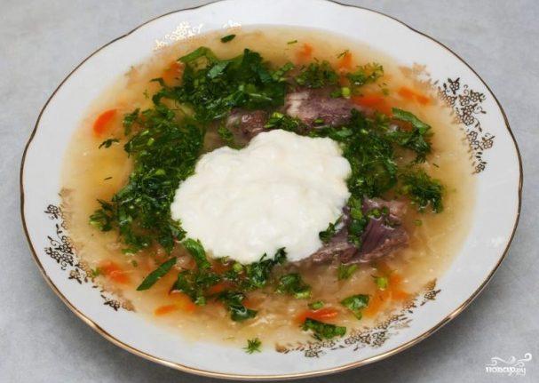 Рецепт супа щи со свежей капустой и свининой