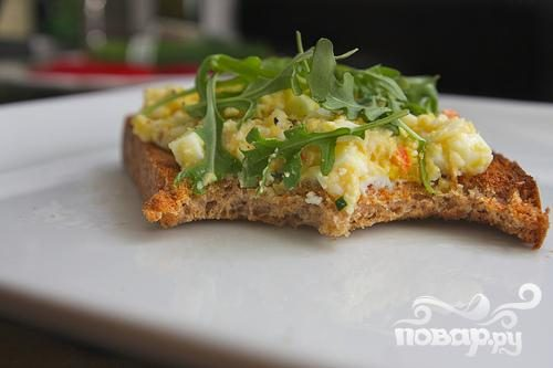 Сэндвичи с яичным салатом