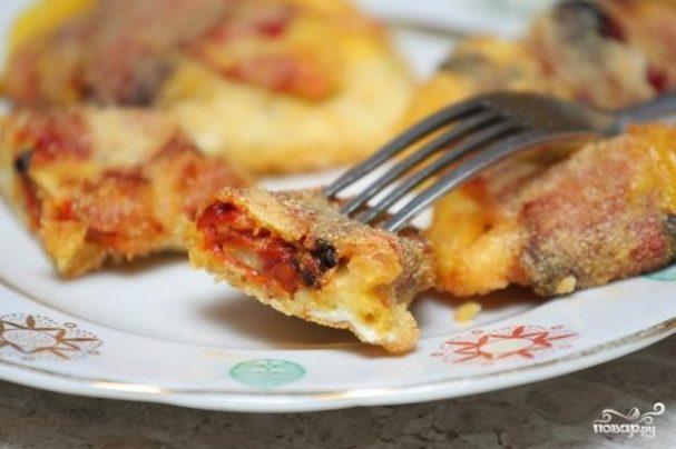 Закуска из перцев чили и сыра