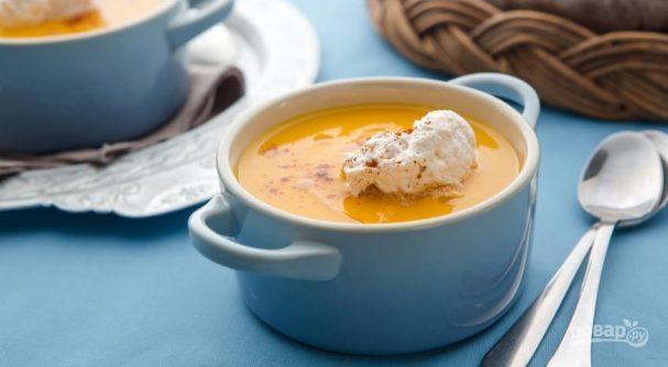 Простой рецепт супа-пюре из тыквы