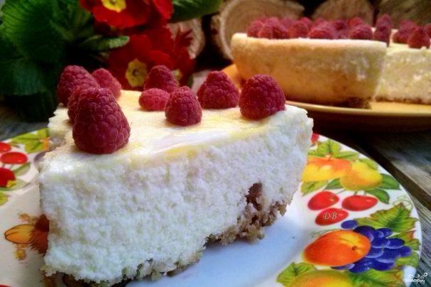 Пирог с творогом в мультиварке