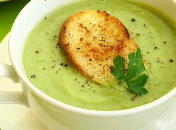 Суп из брокколи в блендере