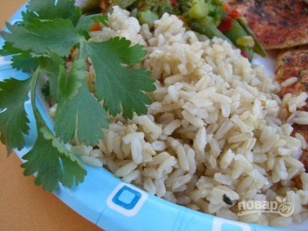 Рис к рыбе