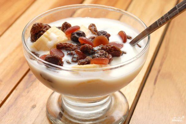 Парфе из йогурта