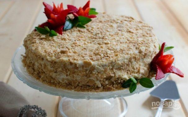 """Тесто для торта """"Наполеон"""" классическое"""