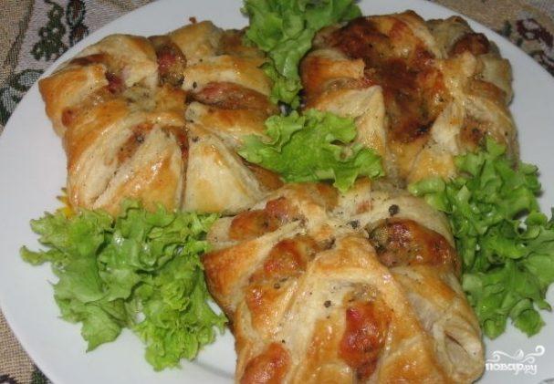 Хачапури с ветчиной и сыром рецепт пошагово с