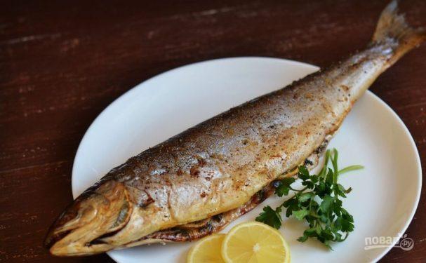 Рыба голец в духовке